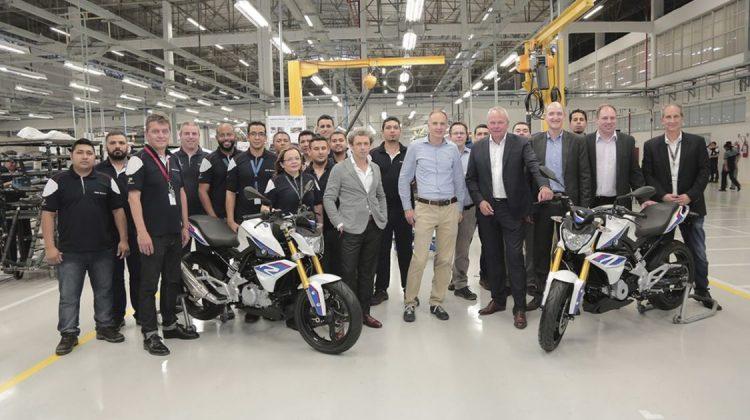 BMW G 310 R produzida no Brasil