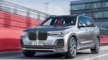 Projeção do BMW X7