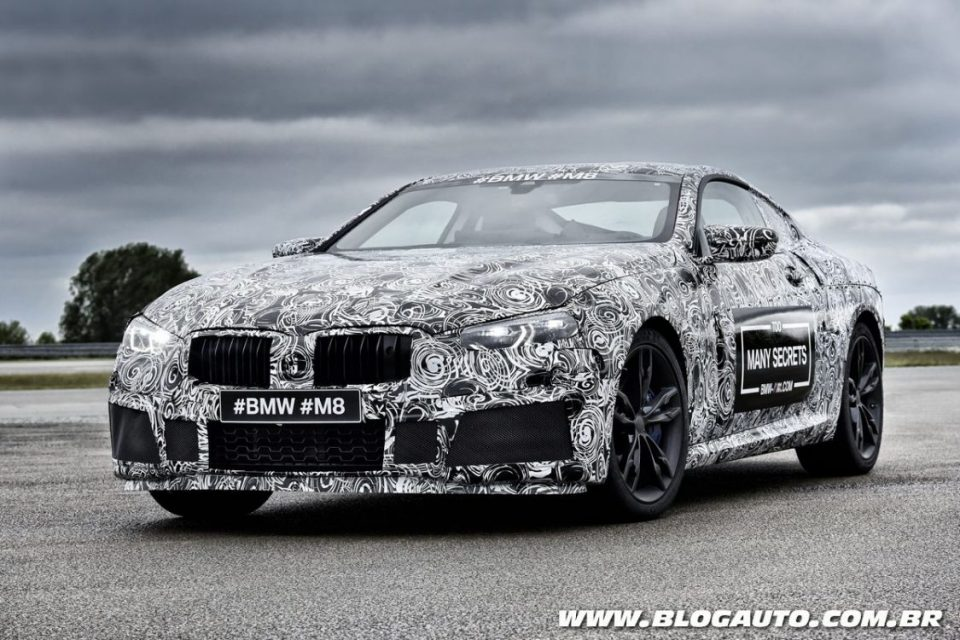 Protótipo do novo BMW M8