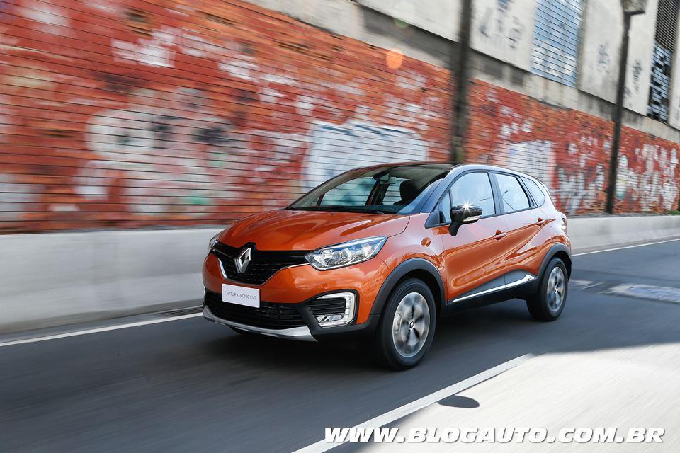 Avaliação: Renault Captur 2018 X-Tronic CVT, a versão que faltava