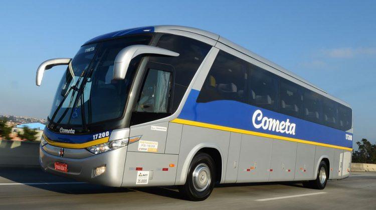 Ônibus Mercedes-Benz da Viação Cometa
