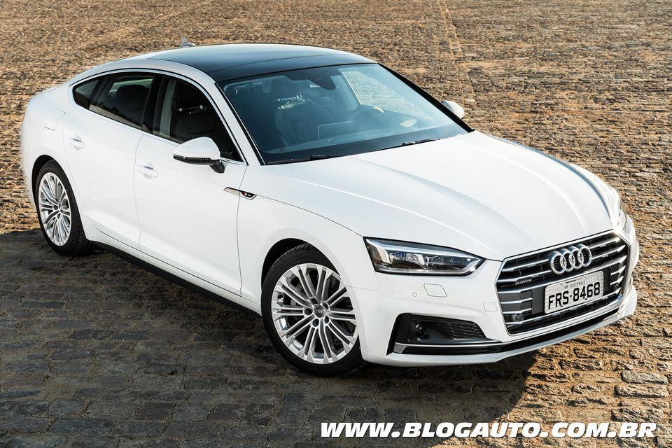 Americar elege o Audi A5 Sportback o melhor importado da América Latina