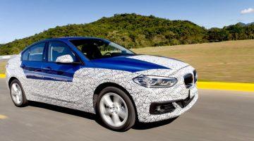 BMW Série 1 Sedan em teste no Brasil
