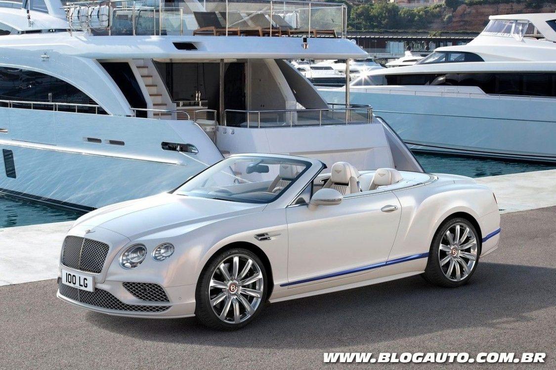Bentley Continental GT ganha série inspirada em iates