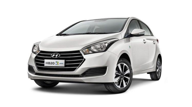 Hyundai HB20 Edição Comemorativa 5 Anos