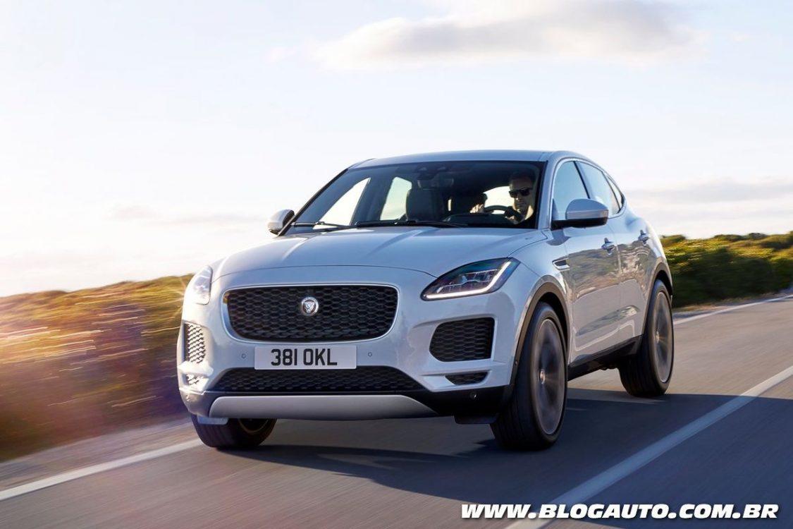 Jaguar E-Pace é lançado como irmão menor do F-Pace