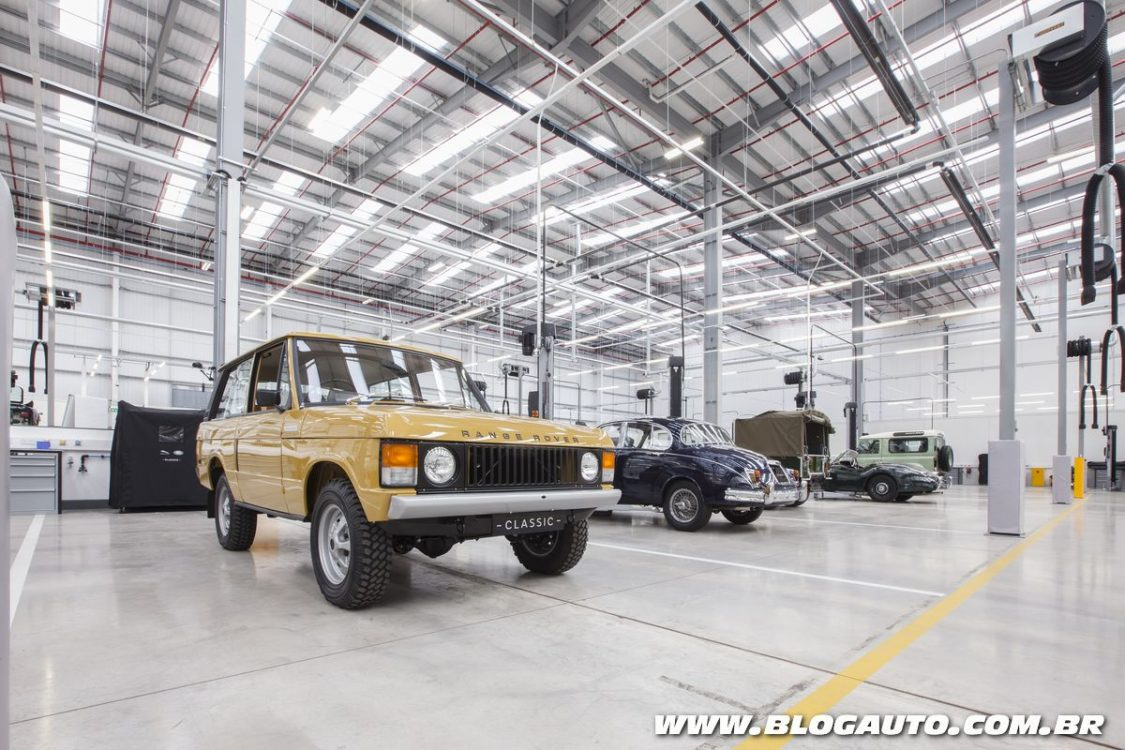 Jaguar Land Rover inaugura espaço exclusivo para clássicos