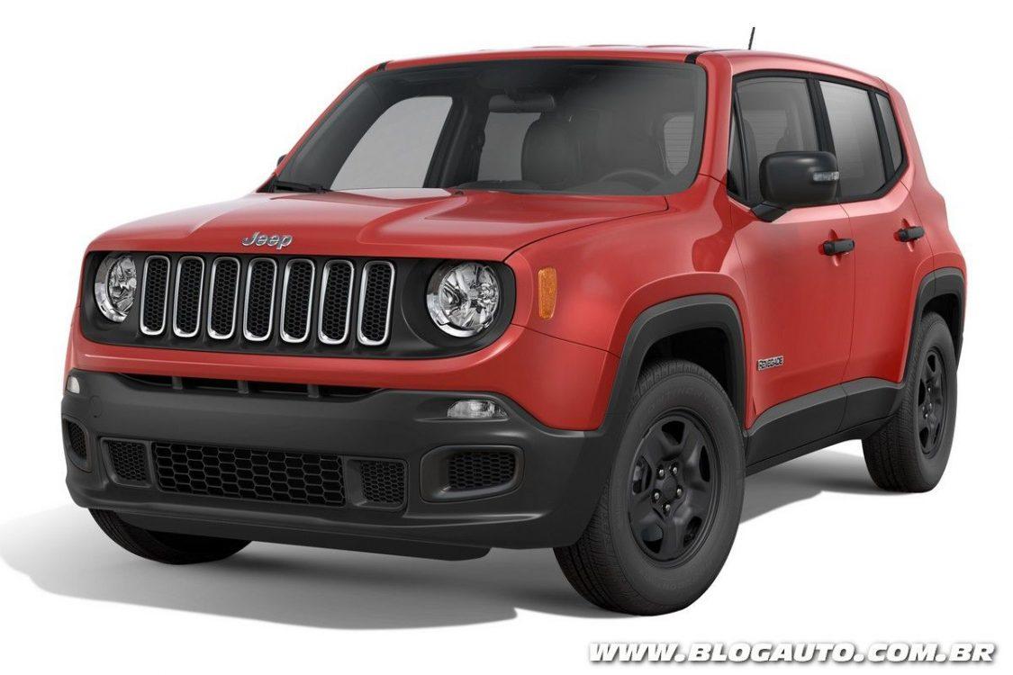 Jeep Renegade 2018 para PcD vai ganhar novo motor flex