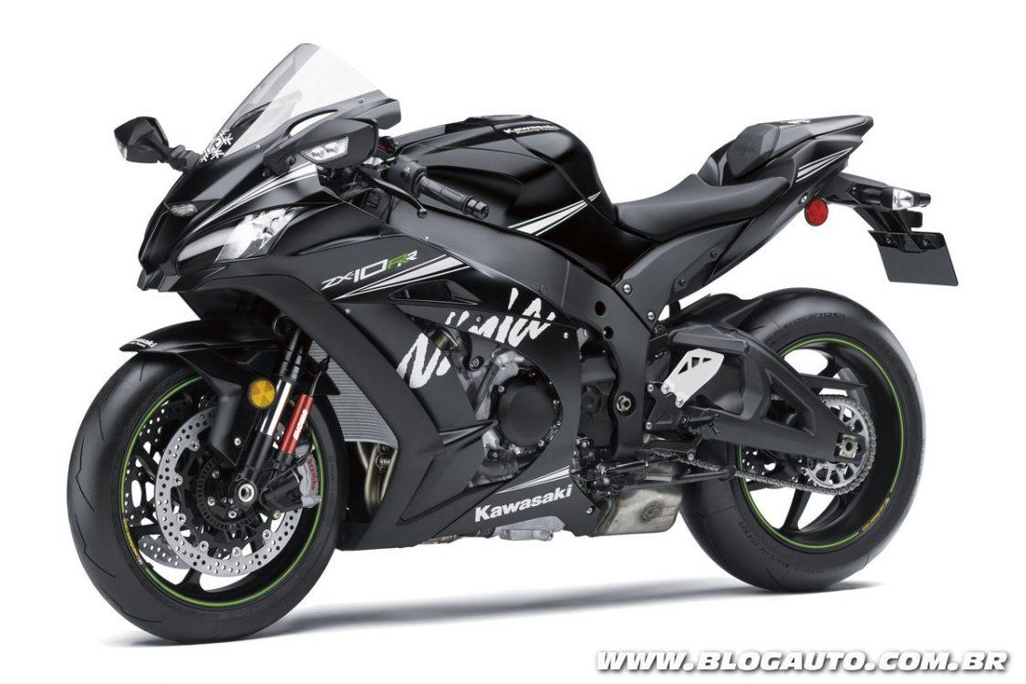 Kawasaki Ninja ZX-10RR chega ao Brasil por R$ 83.990