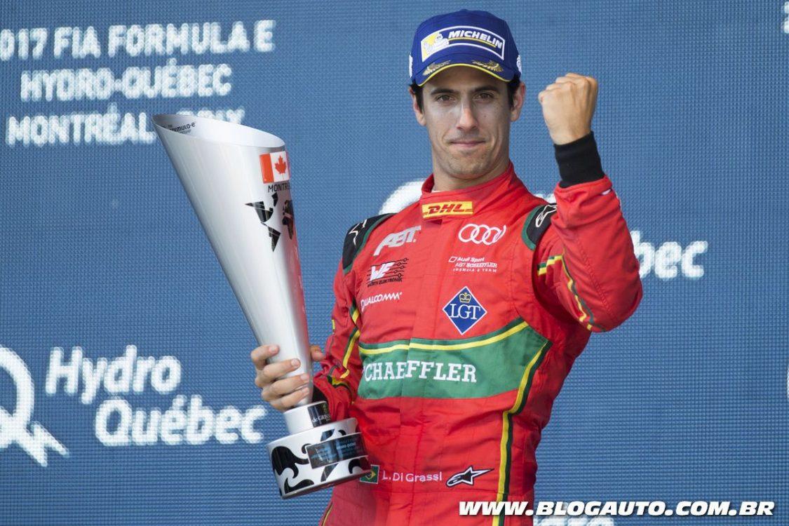 Brasileiro Lucas di Grassi vence o campeonato na Fórmula E