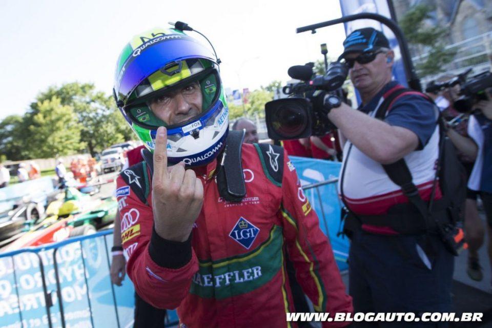 Lucas di Grassi na Fórmula E