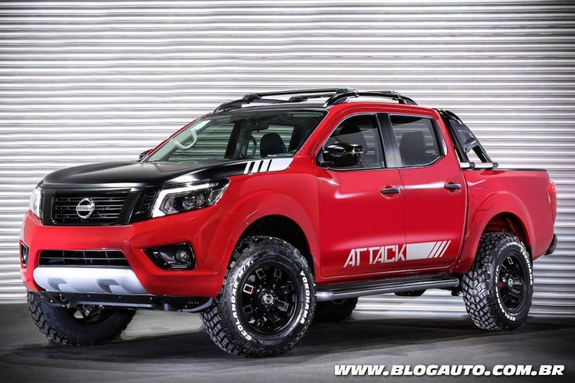 Nissan mostra construção da Frontier Attack Concept