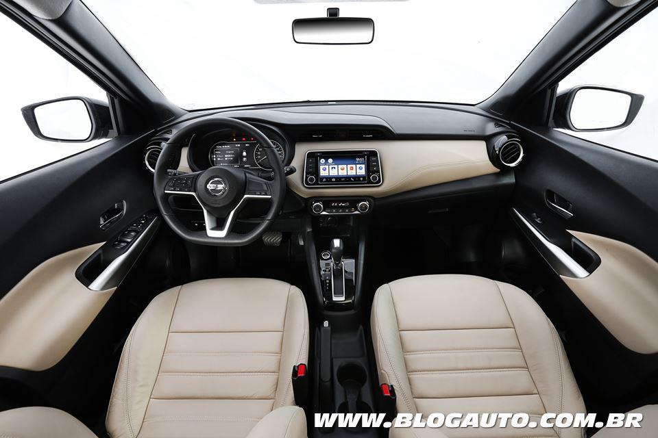 Nissan Kicks 2018 SL interna