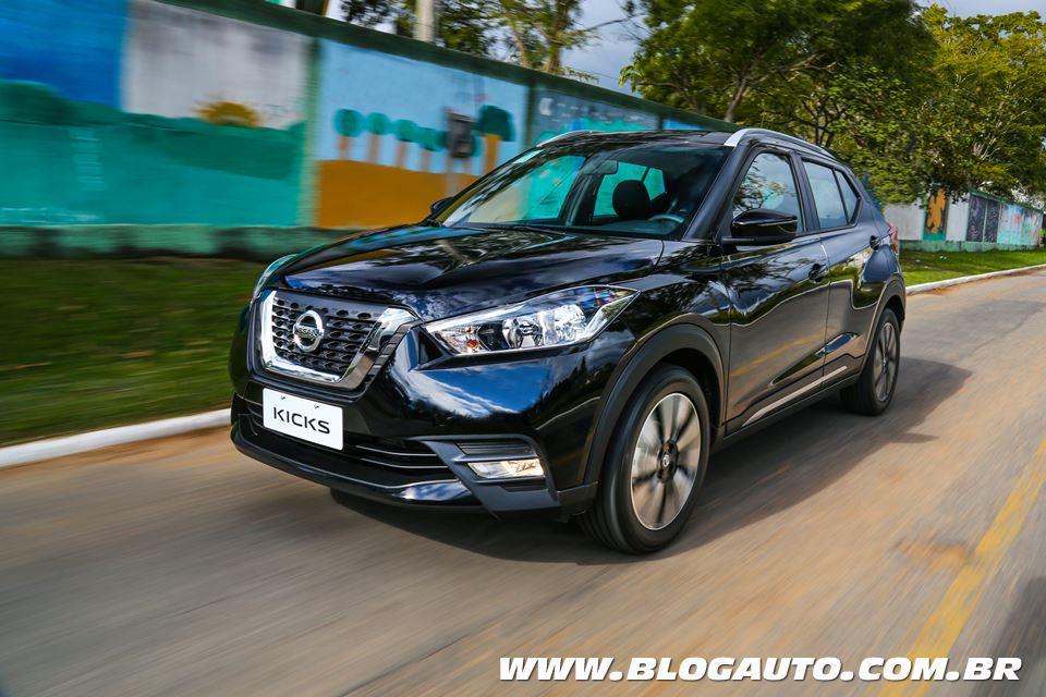 Nissan Kicks se posiciona no segmento de crossovers no Brasil