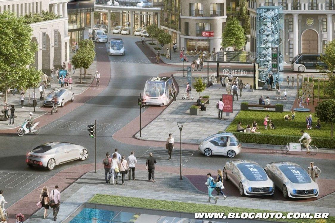 Bosch e Daimler desenvolvem novo sistema autônomo