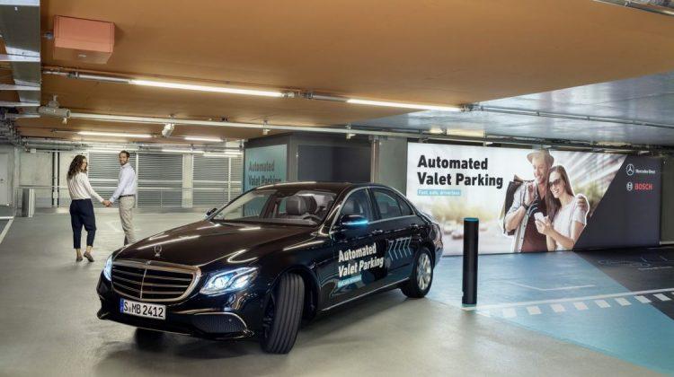 Sistema de estacionamento autônomo da Bosch e Daimler