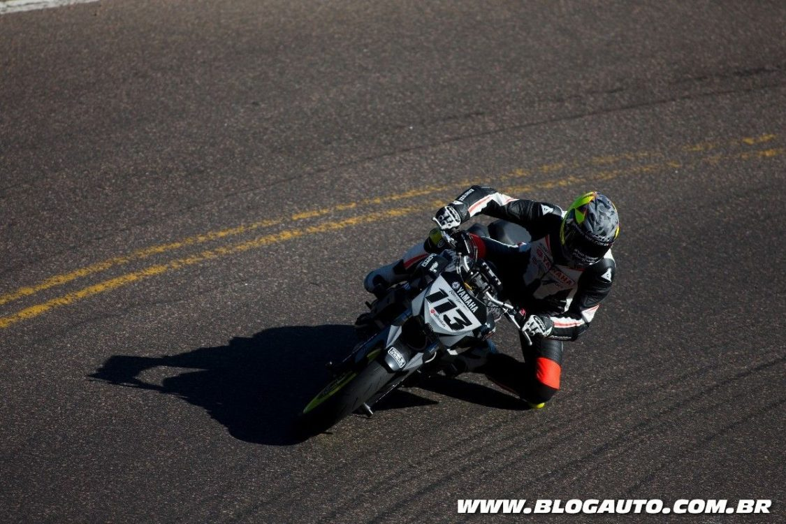 Rafael Paschoalin e Yamaha MT-07 surpreendem no Pikes Peak