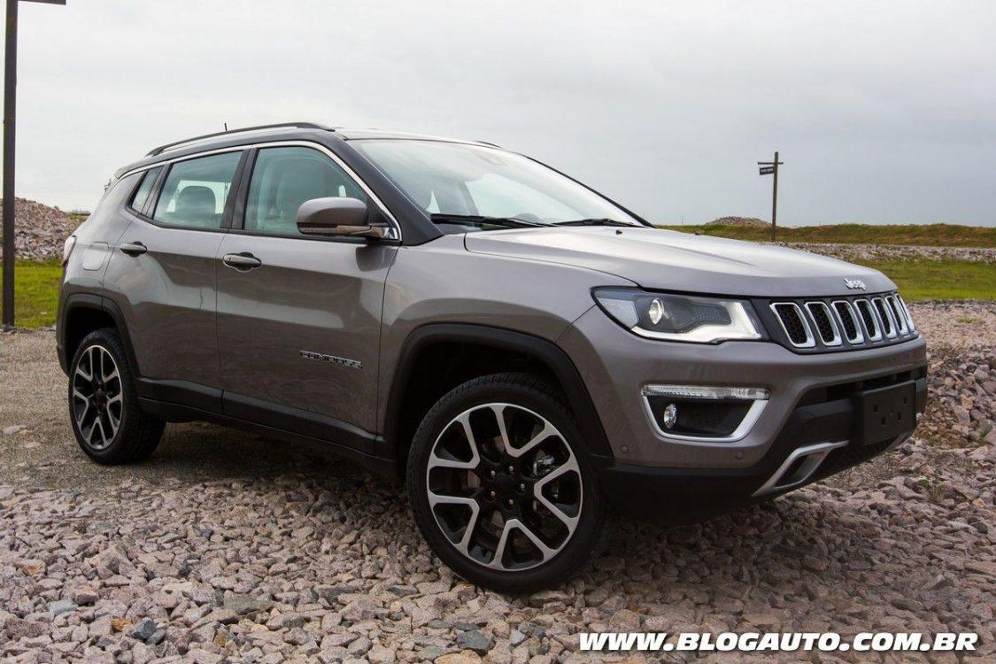 Jeep Compass 2018 chega com novos equipamentos de série - BlogAuto