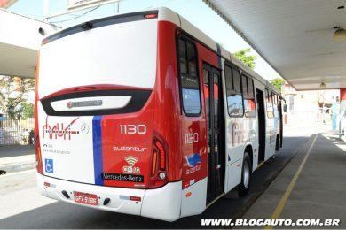 Ônibus Suzantur com chassi Mercedes-Benz