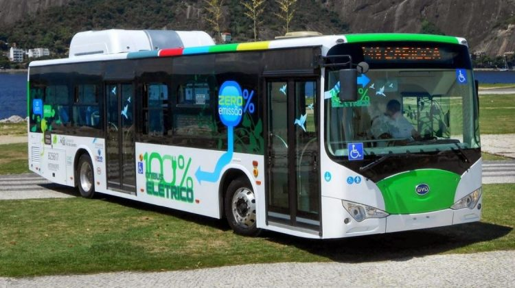 Ônibus elétrico da BYD