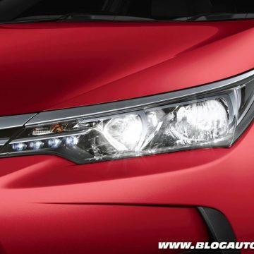 Farol de LED para o Toyota Corolla 2018