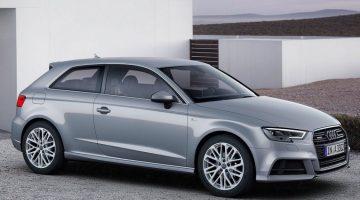 Audi A3 2019 vai perder a carroceria de duas portas
