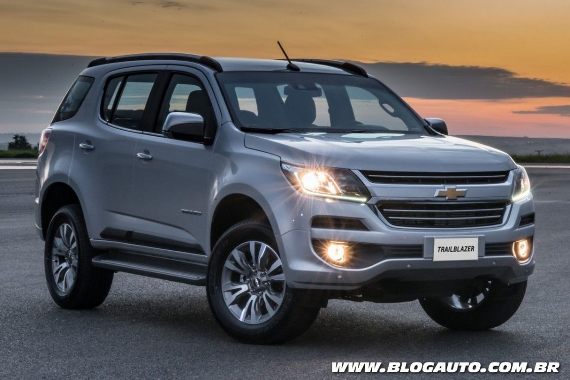 Chevrolet Trailblazer 2018 fica mais eficiente e caro ...