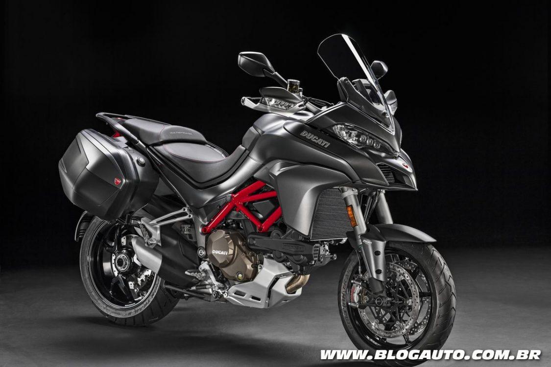 Ducati Multistrada 1200 S ganha nova opção de cor