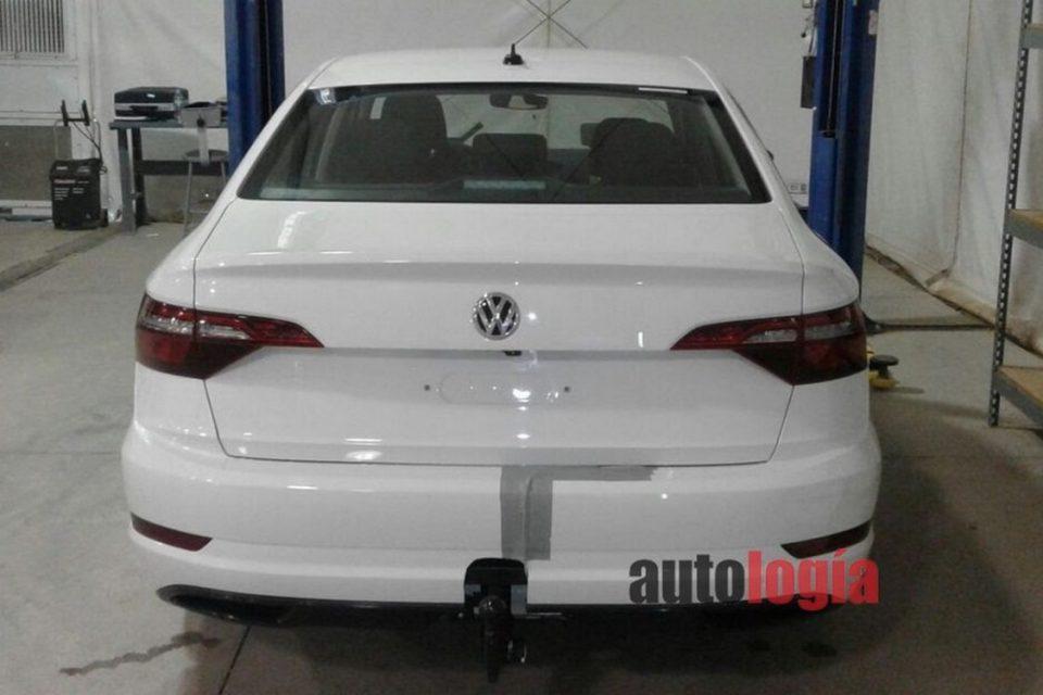 Flagra do Volkswagen Jetta 2018