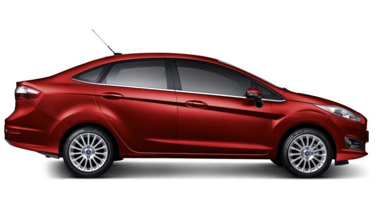 Ford New Fiesta Sedan Titanium 2017