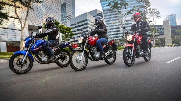 Linha Honda CG 160 2018