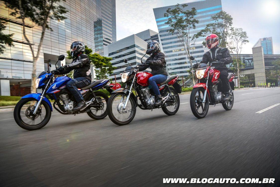 Honda CG 160 2018 estreia com freios CBS de série