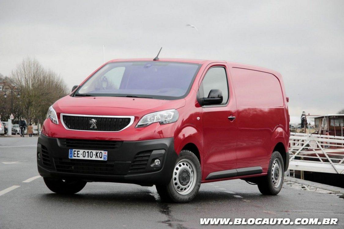 Citroën Jumpy e Peugeot Expert ganham produção no Uruguai