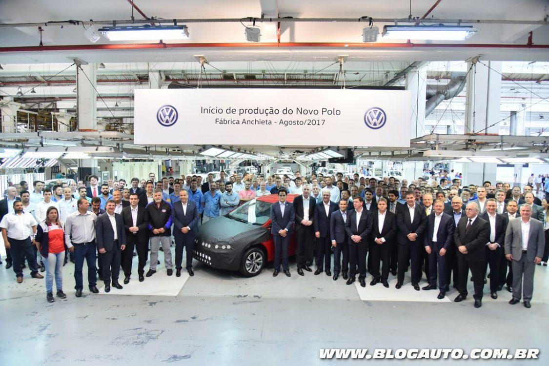 Volkswagen investe R$ 2,6 bi nos novos Polo e Virtus no Brasil