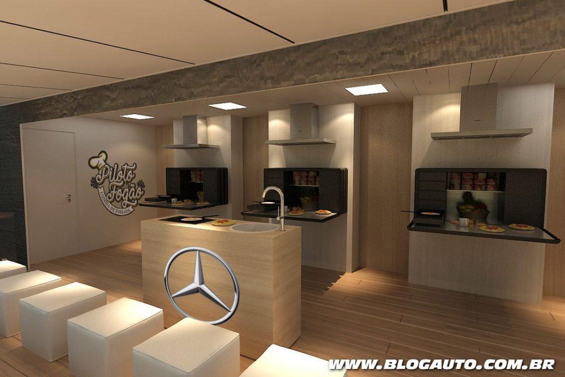 Mercedes-Benz lança projeto de culinária para caminhoneiros
