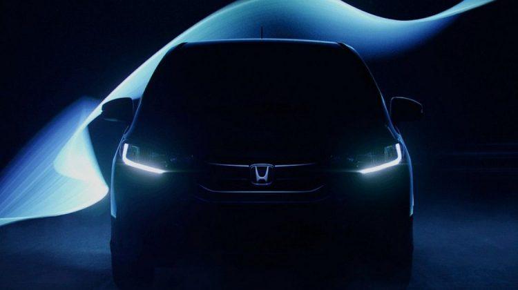 Teaser do Honda Fit 2018
