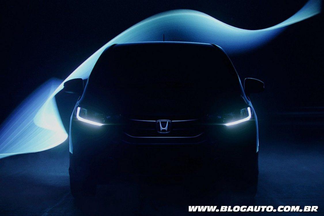 Honda Fit 2018 será apresentado no dia 15 de setembro