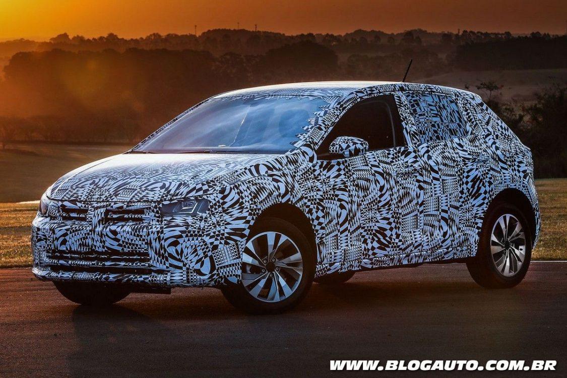 Volkswagen Polo 2018 trará quatro airbags de série