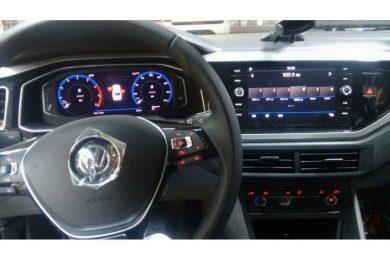 Flagra do novo Volkswagen Virtus