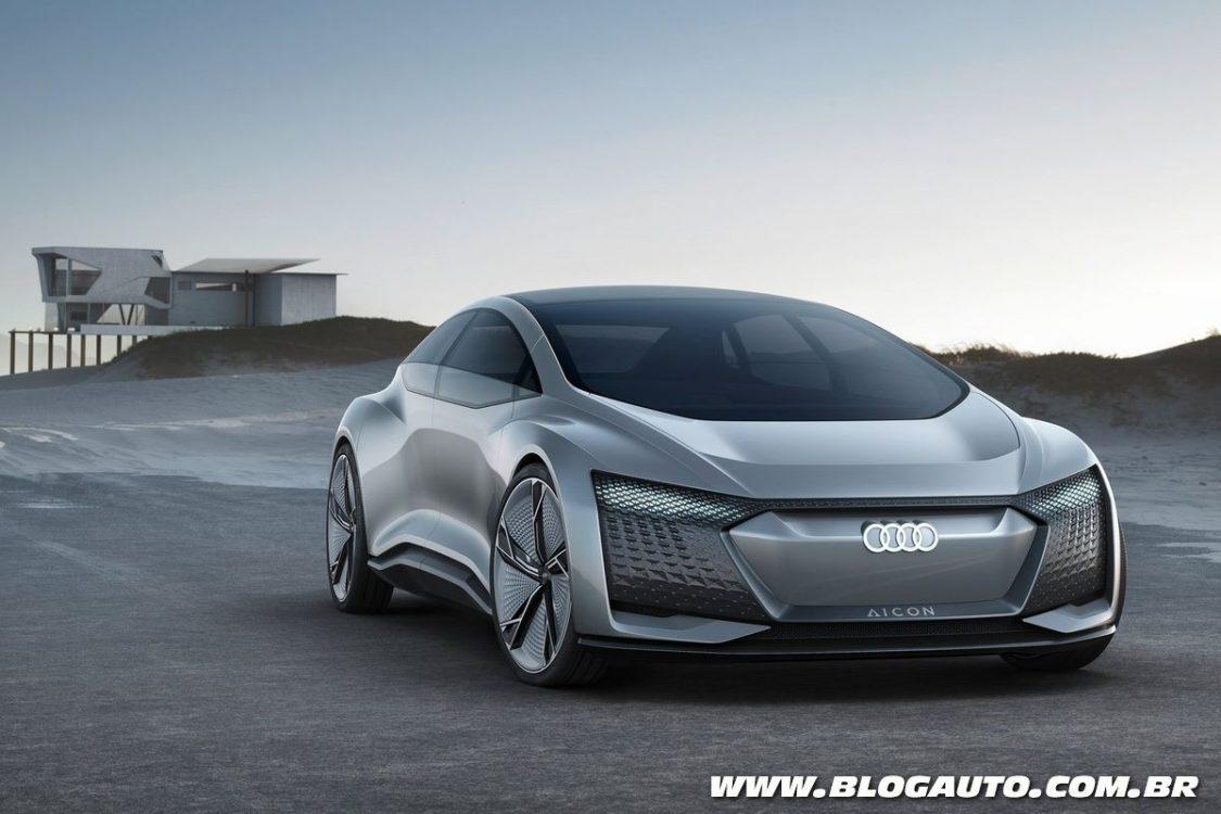 Audi Aicon Concept mostra o futuro dos sedãs da marca
