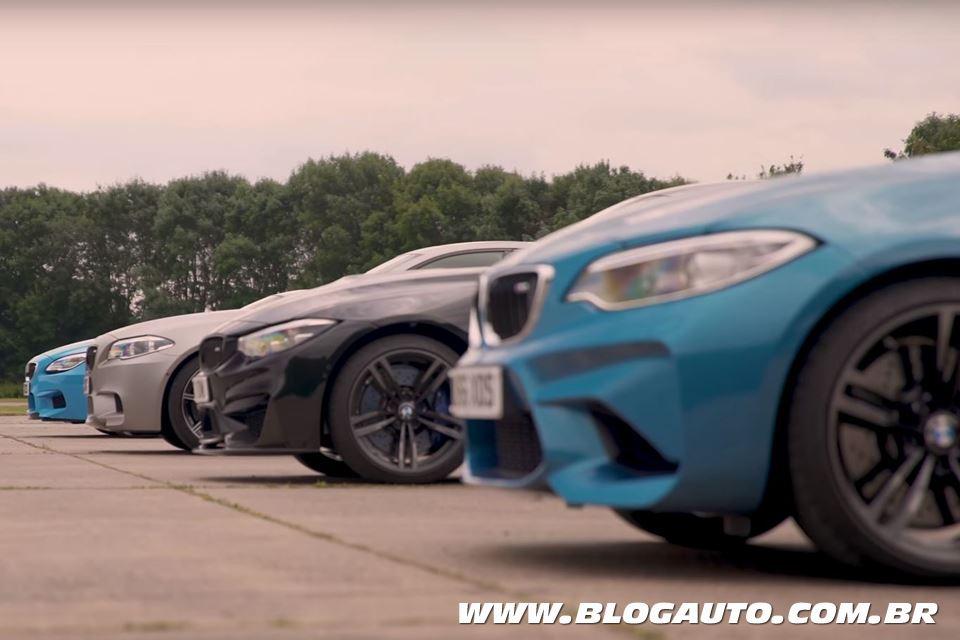 Quem acelera mais rápido? BMW M2, M4, M5 ou M6?