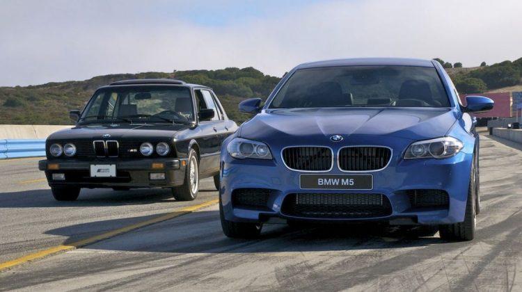 BMW M5 1985 e 2011