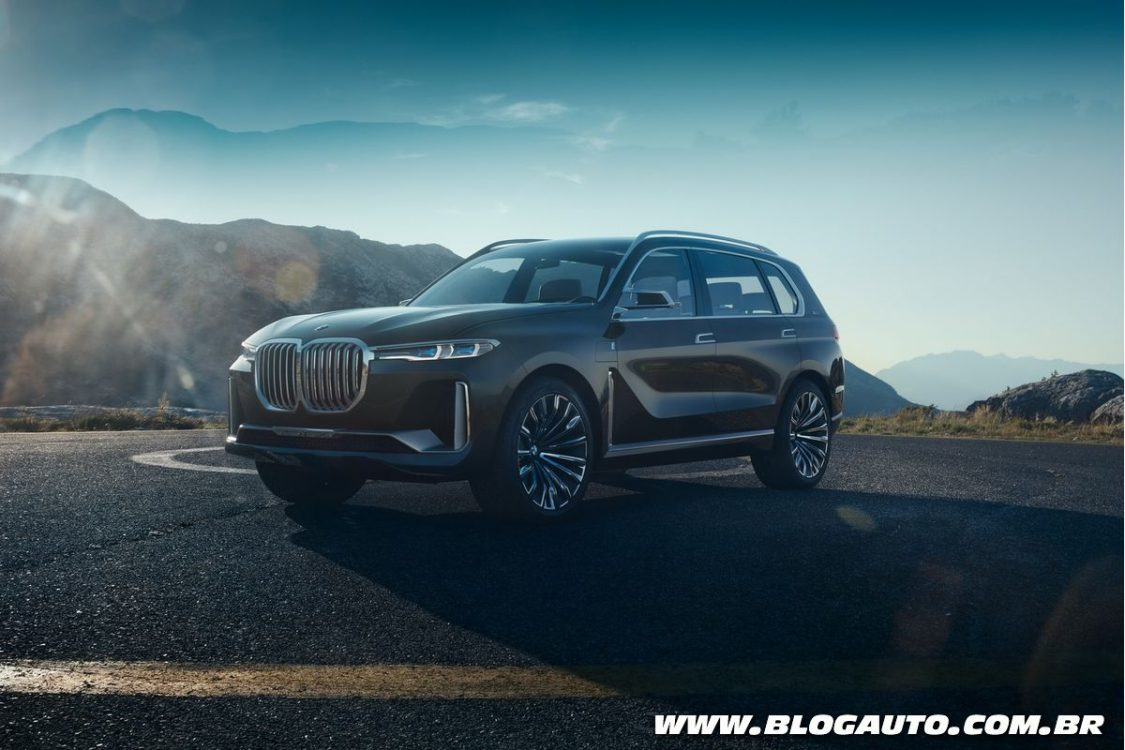 BMW X7 iPerformance Concept abusa do refinamento
