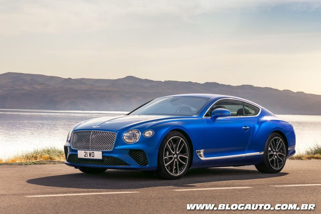 Bentley Continental GT 2018 surpreende com W12 de 635 cv
