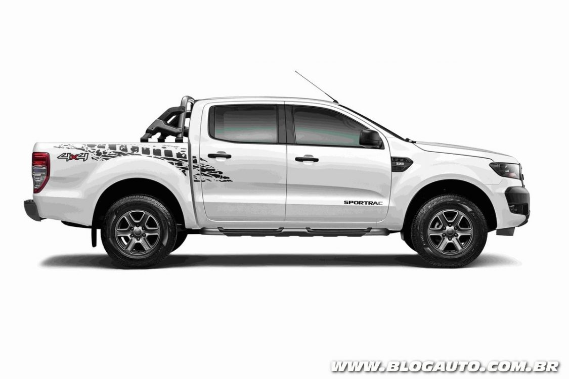 ford ranger 2018 traz s rie sportrac e novos itens de. Black Bedroom Furniture Sets. Home Design Ideas