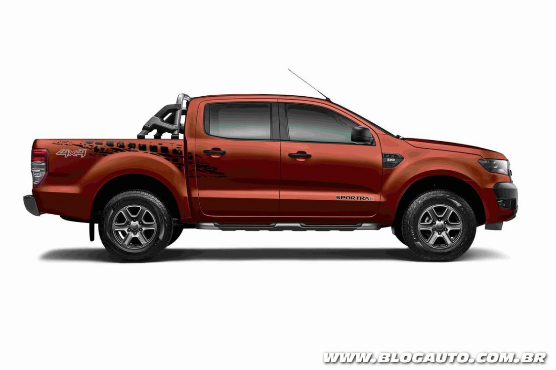 ford ranger 2018 traz s rie sportrac e novos itens de s rie blogauto. Black Bedroom Furniture Sets. Home Design Ideas