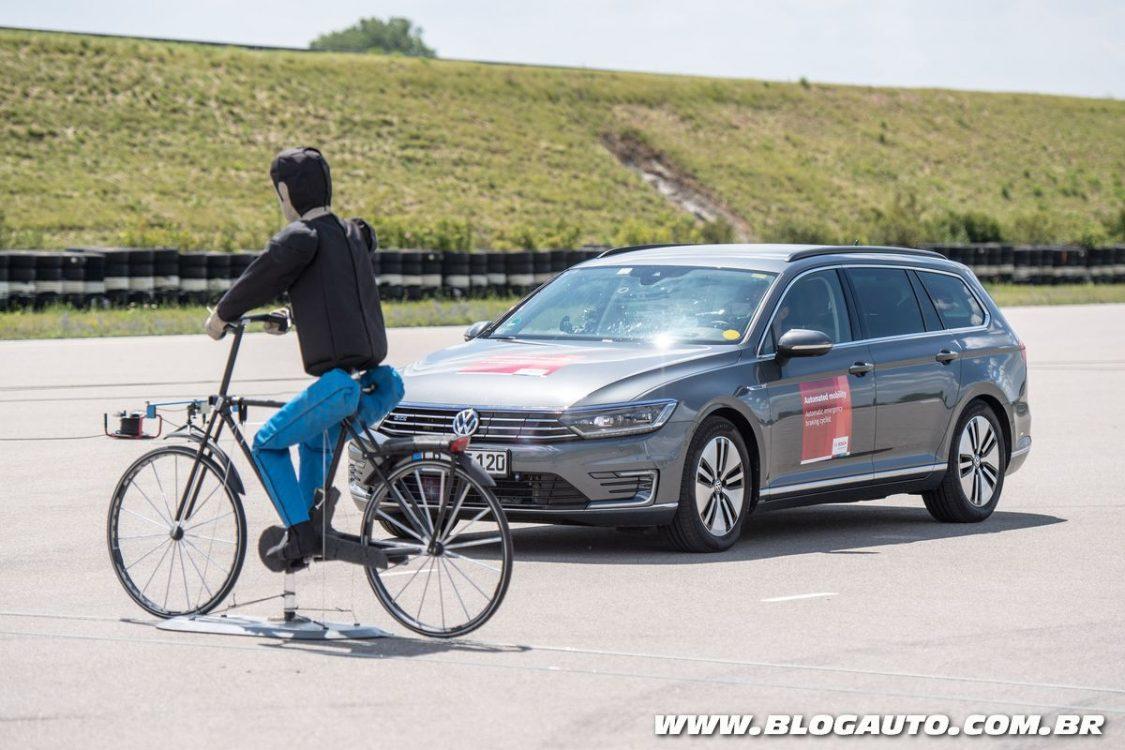 Bosch lança sistema de frenagem que detecta ciclistas