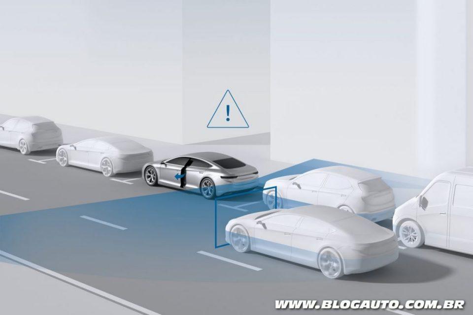 Frenagem automática de emergência da Bosch