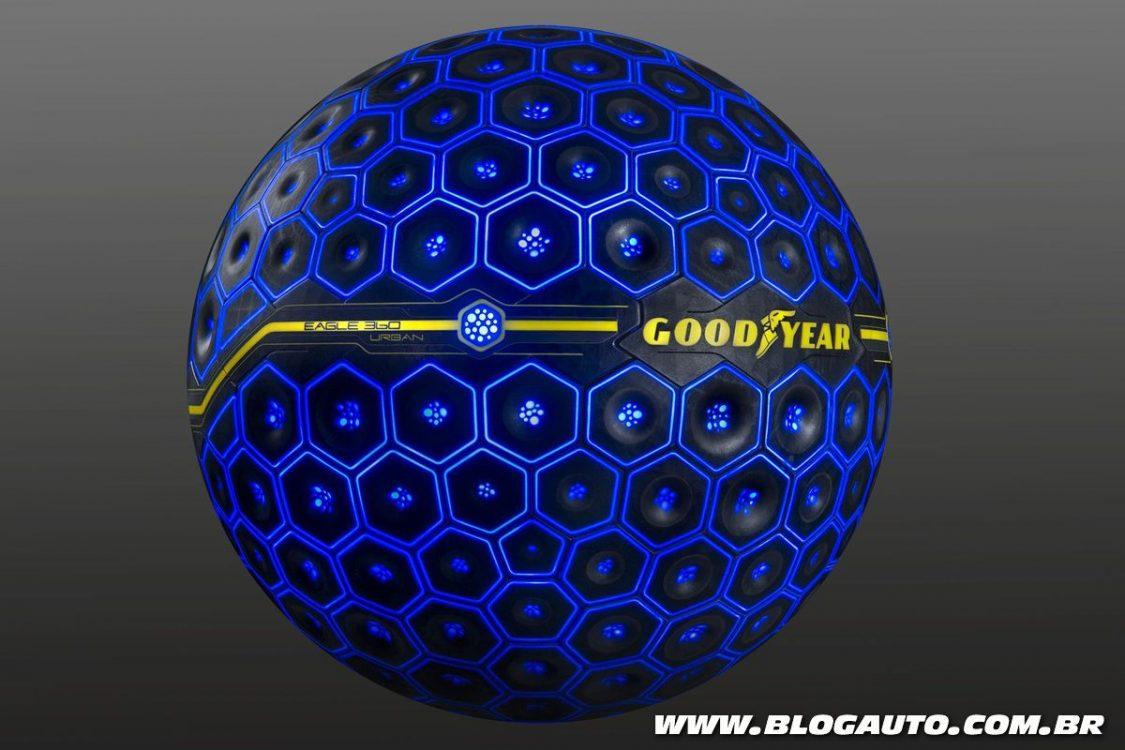 Goodyear lança pneu movido por inteligência artificial
