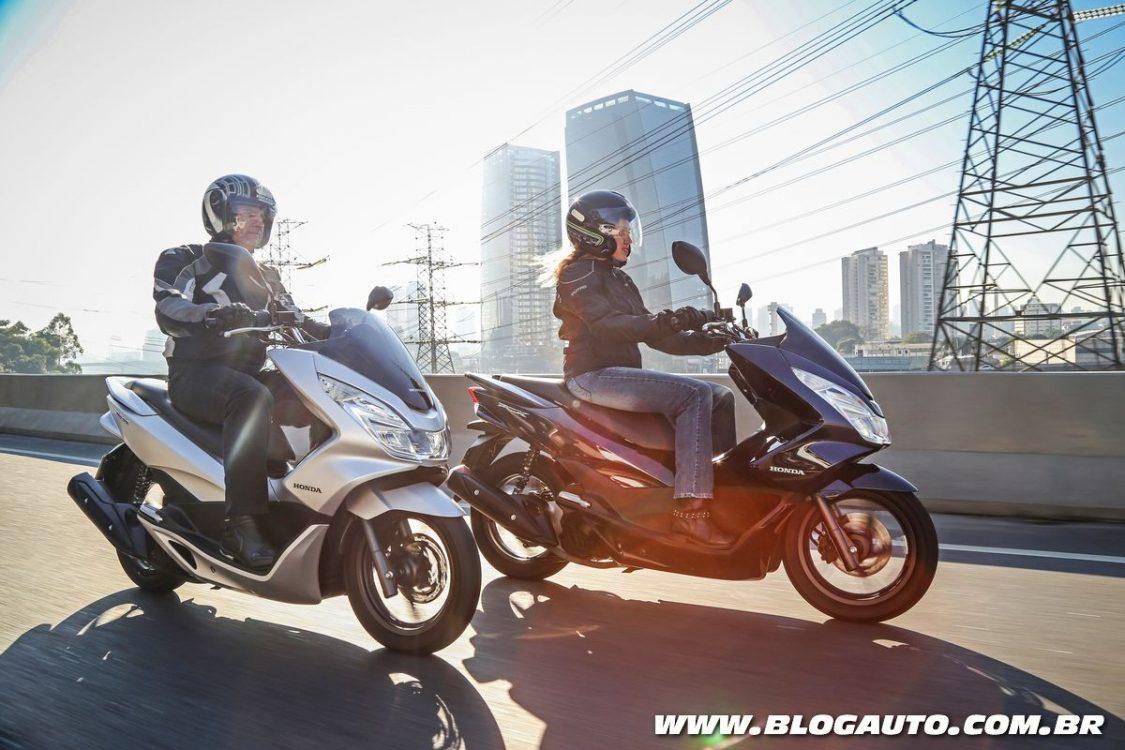 Scooter Honda PCX 2018 é lançado com nova cor